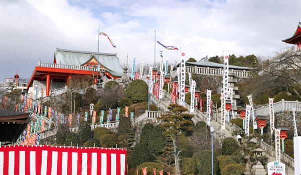 愛知県犬山市の初詣おすすめスポット「犬山成田山」